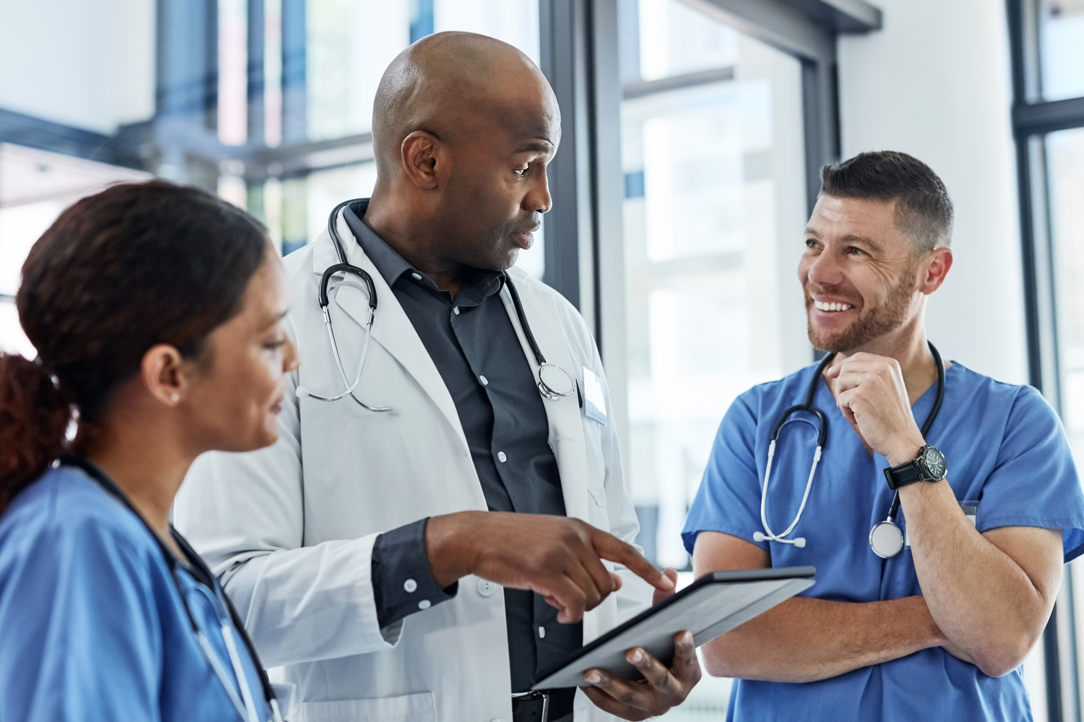 Diversity and inclusion in healthcare settings