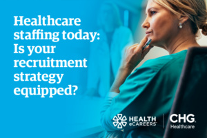 healthcare staffing strategy webinar graphic