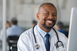 Physician working for an organization that practice hiring for diversity in healthcare